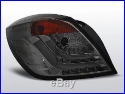 Tylne wiata dla Opel ASTRA H 04-09 Smoke LED 3D GTC XLDOP50PT XINO TUNING